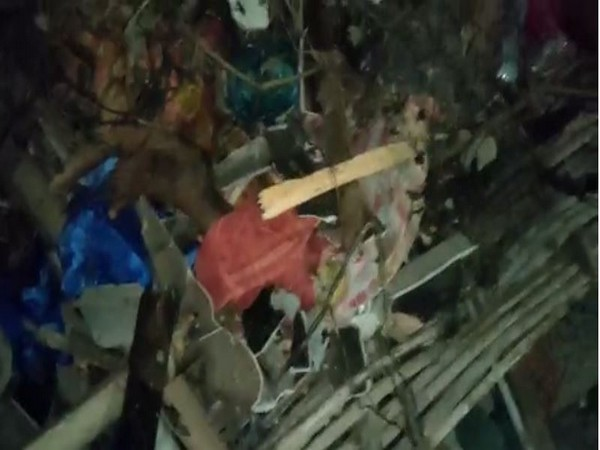 Visuals from the accident site in East Godavari district. Photo/ANI