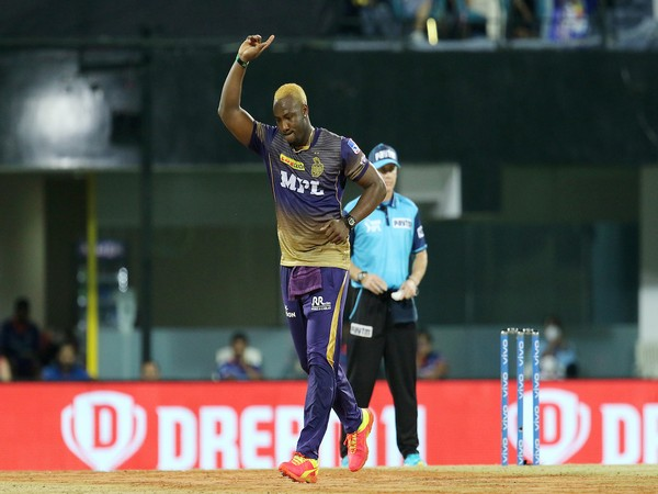 KKR all-rounder Andre Russell (Image: BCCI/IPL)