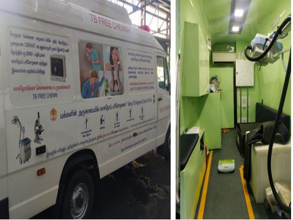 Photos of mobile diagnostic vans and interiors
