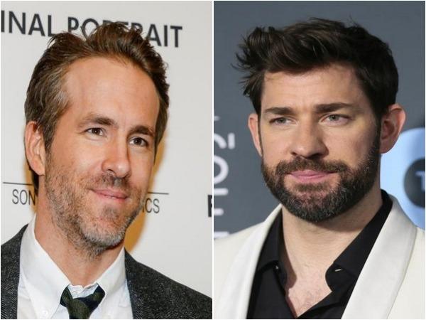 Ryan Reynolds and John Krasinski