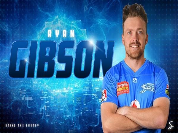 Top-order batsman Ryan Gibson (Image: Adelaide Strikers' Twitter)