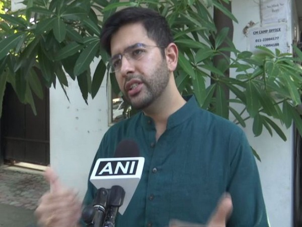 Raghav Chadha, Punjab AAP co-incharge for Assembly Elections 2022 (Photo/ANI)