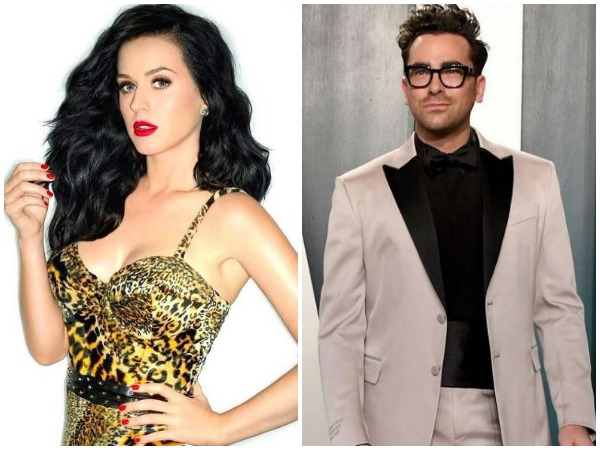 Katy Perry and Dan Levy (Image courtesy: Instagram)