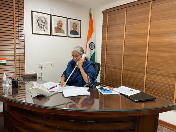 Finance Minister Nirmala Sitharaman (File Photo) (Source: Twitter/Ministry of Finance)