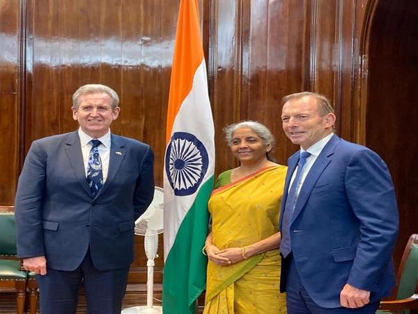 Union Finance Minister Nirmala Sitharaman met Tony Abbott, Special Envoy of Australian Prime Minister.