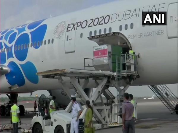 Second batch of Sputnik V landed in Hyderabad, Telangana on Sunday.