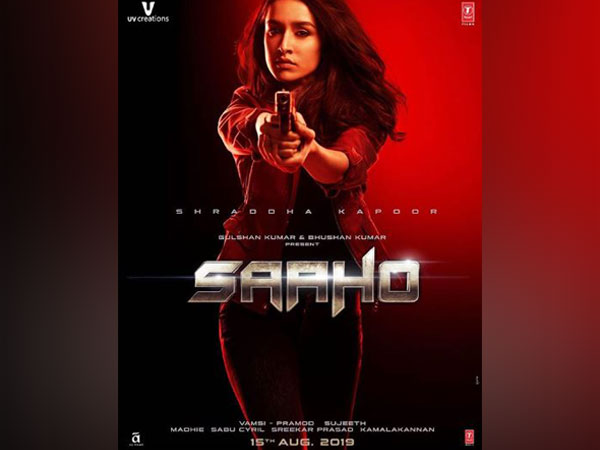 Poster of 'Saaho', Image Courtesy: Instagram