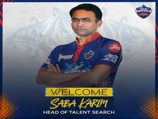 Former India wicket-keeper batsman Syed Saba Karim (Image: Delhi Capitals)