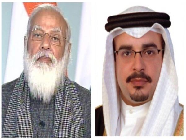 Prime Minister Narendra Modi on Friday thanked Bahrain's crown prince and Prime Minister Salman bin Hamad.