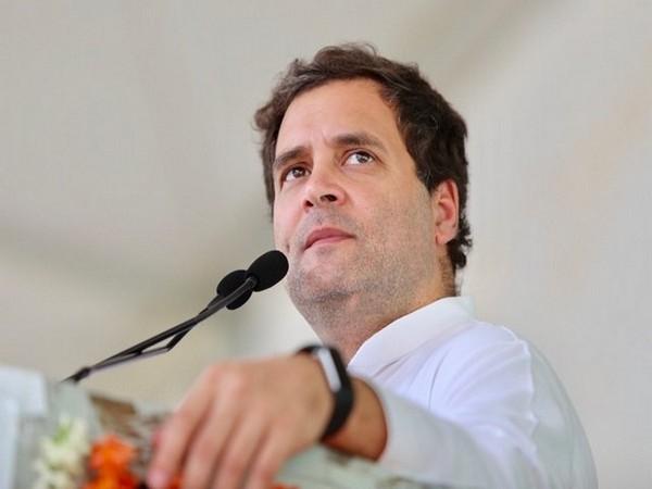 Congress leader Rahul Gandhi (file pic/ANI).