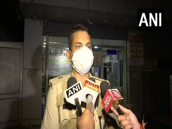 Tarkeshwar Patel, Additional Superintendent of Police speaking to reporters on Saturday.