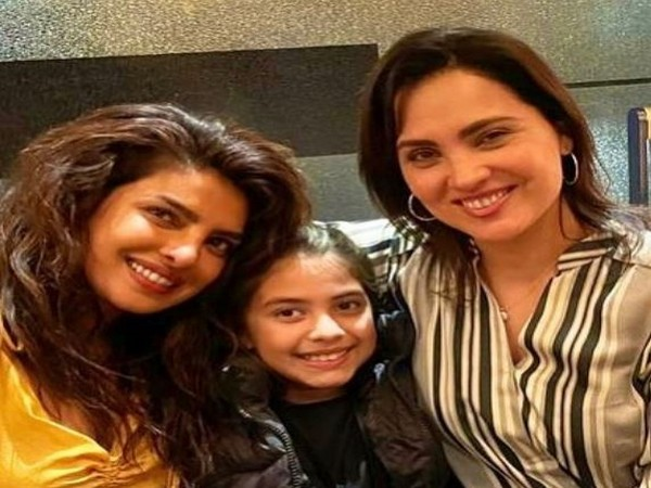 Priyanka Chopra, Saira, Lara Dutta (L to R) (Image source: Instagram)