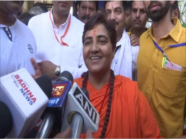 BJP MP Sadhavi Pragya (File photo)