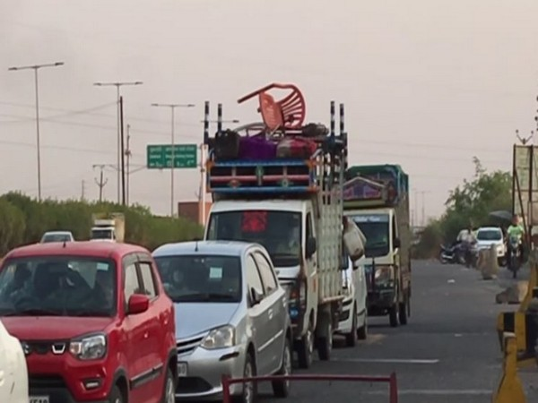 Indore Dewas Tollways (Photo/ANI)