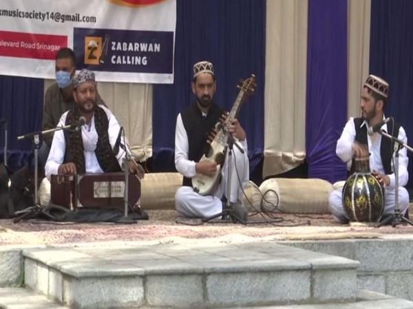 Cultural event at Zabarwan Park