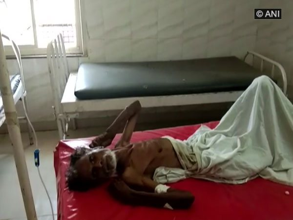 The man who was declared dead but found alive at govt hospital in Sagar District