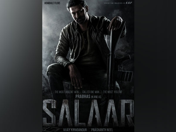 Poster of the movie 'Salaar'