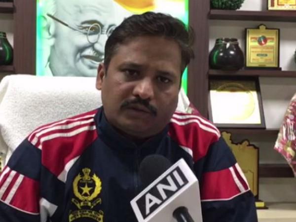 SSP Meerut, Ajay Sahani talking to ANI in Meerut on Monday