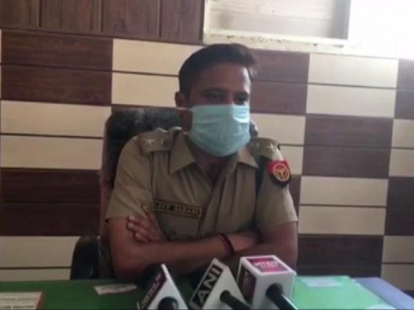 Meerut's Superintendent of Police Ajay Sahni. Photo/ANI