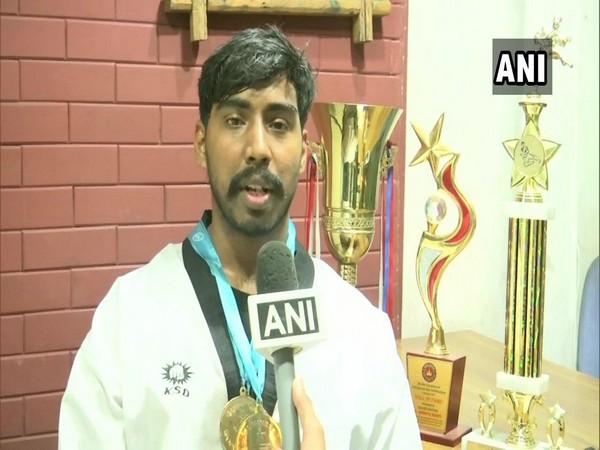Taekwondo player Sai Deepak
