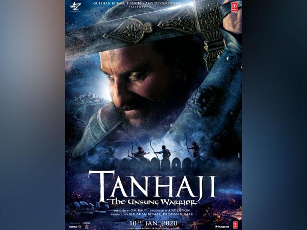 Saif Ali Khan on the poster (Image Courtesy: Twitter)