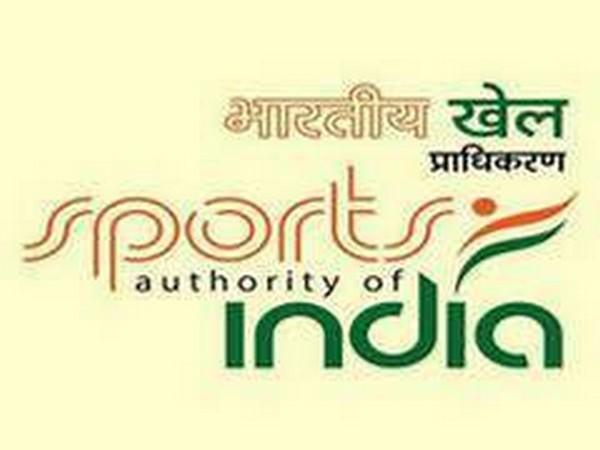 Sports Authority of India logo.