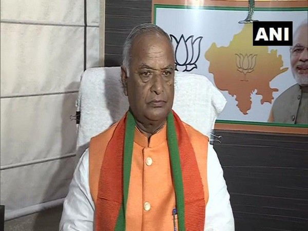 Rajasthan BJP chief Madan Lal Saini (File photo)