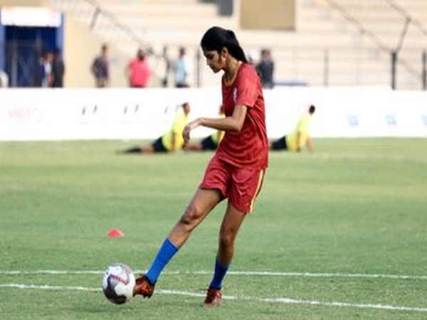 Sai Sankhe    (Image: Indian Football Team's twitter)