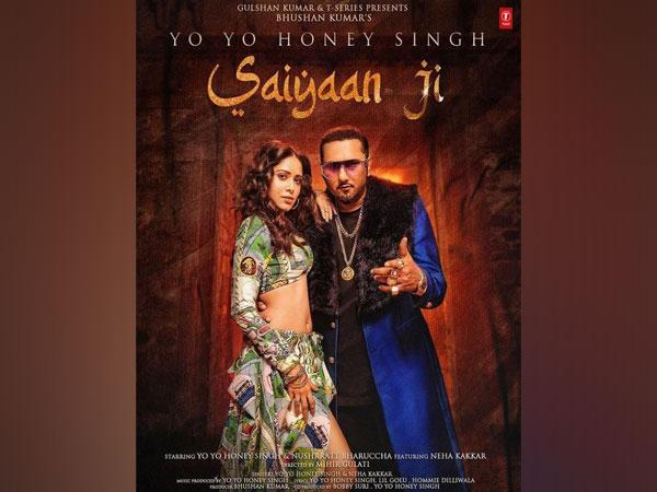 Poster of song 'Saiyaan Ji', Image source: Instagram