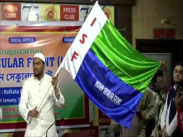 Pirzada Abbas Siddique, founder of Furfura Sharif Ahale Sunnatul Jamat, launches Indian Secular Front (ISF) in Kolkata (file photo)