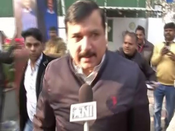 Sanjay Singh speaks to ANI in New Delhi [Photo/ANI]