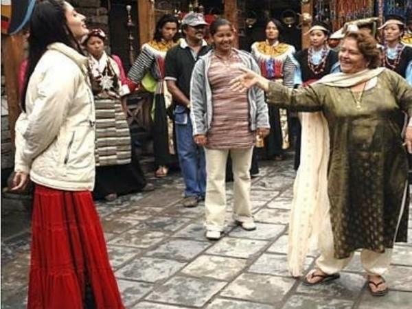 Kareena Kapoor Khan, Saroj Khan (Image courtesy: Instagram)