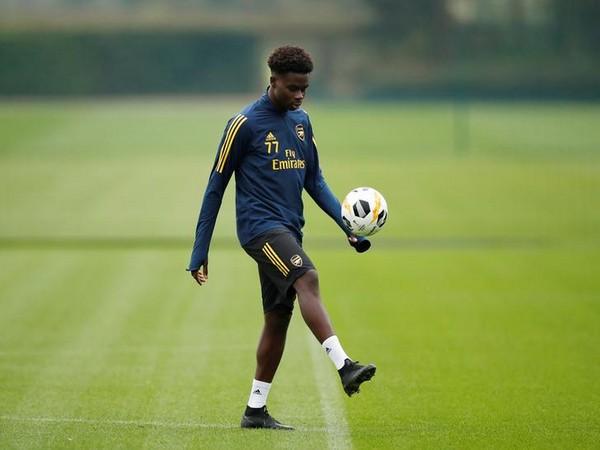 Arsenal's Bukayo Saka