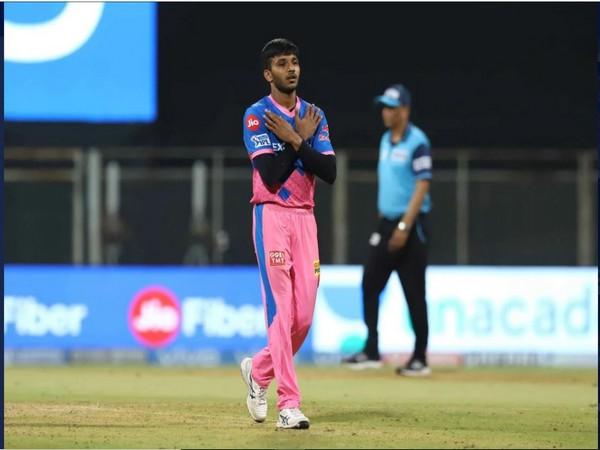 Rajasthan Royals bowler Chetan Sakariya (Photo/ iplt20.com)