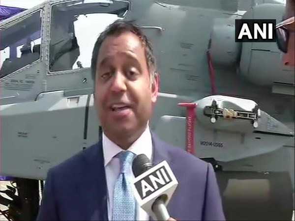 President Boeing India Salil Gupte speaking to ANI in Pathankot, Punjab on Tuesday.