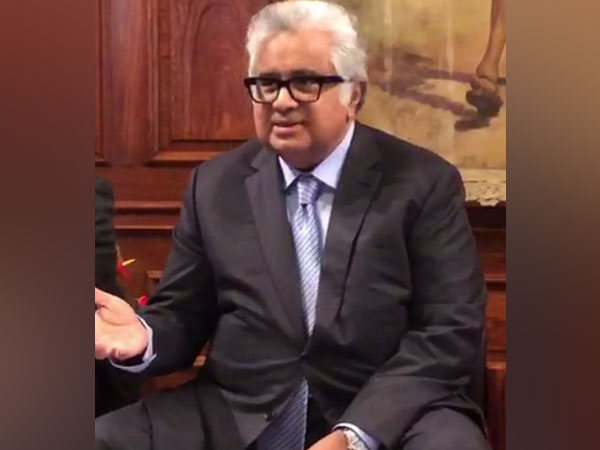 Senior Indian lawyer Harish Salve speaking to media after the UK court ruled against Pakistan in the decades-old Hyderabad fund case on Wednesday.