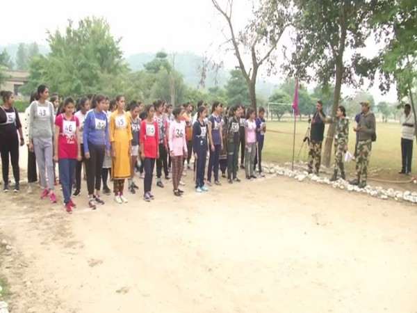 Several girls took part in a recruitment drive organised by the BSF in Samba [Photo/ANI]