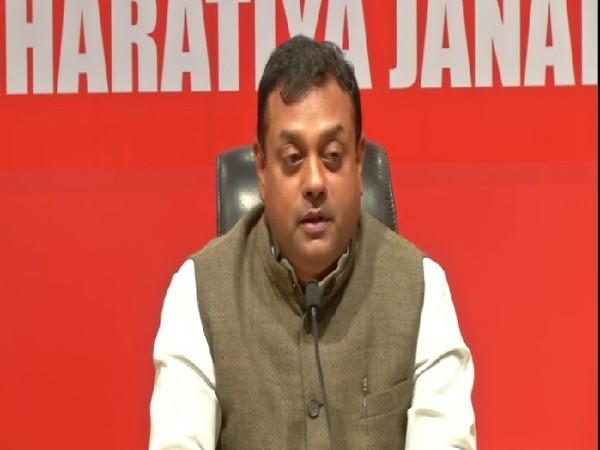 BJP spokesperson Sambit Patra speaking at a press conference in New Delhi on Saturday. Photo/ANI