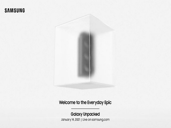 A glimpse from the teaser video of Samsung's 'Galaxy Unpacked' event