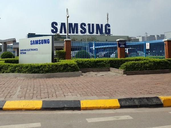 Samsung Electronics' Vietnam plant. (Photo: NEWSIS)