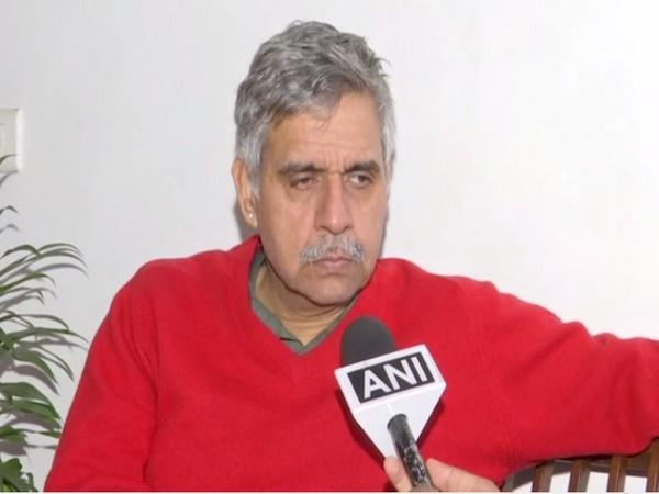 Congress leader Sandeep Dikshit speaking to ANI in New Delhi on Sunday. Photo/ANI