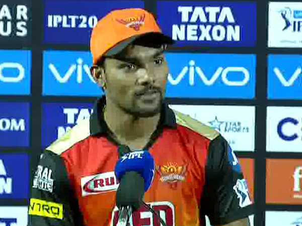 Sunrisers Hyderabad bowler Sandeep Sharma