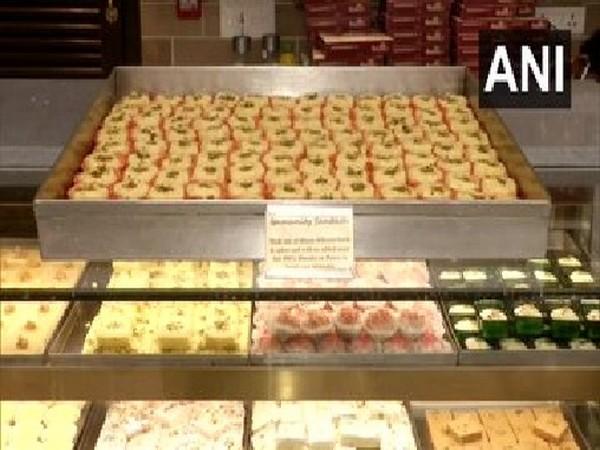 A visual of the sweet shop in Kolkata that i selling 'Immunity Sandesh'.