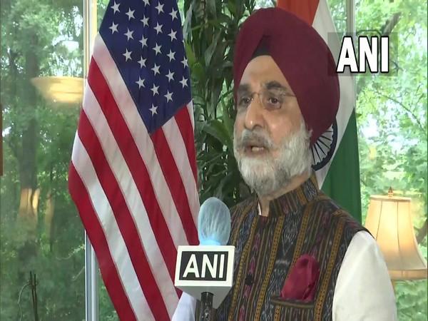 Indian Ambassador to the US Taranjit Singh Sandhu