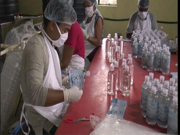 SAHWA Solution in Manipur has come forward to make alcohol-free hand sanitizers at a very reasonable rate.