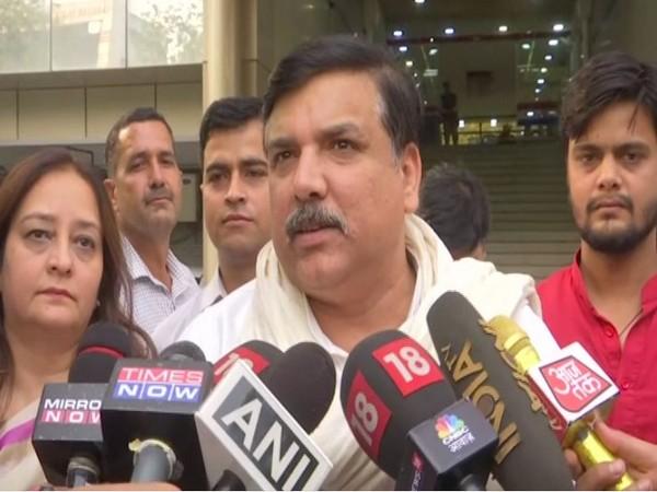 AAP MP Sanjay Singh [Representative Image]