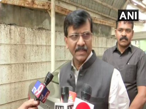 Shiv Sena leader Sanjay Raut. Photo/ANI
