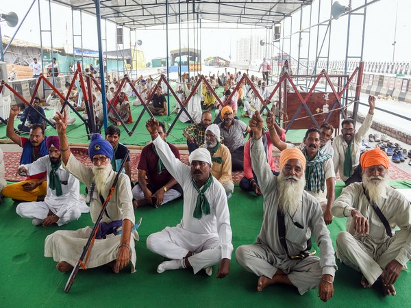 Visuals of protesting farmers at Jantar Mantar on July 19.