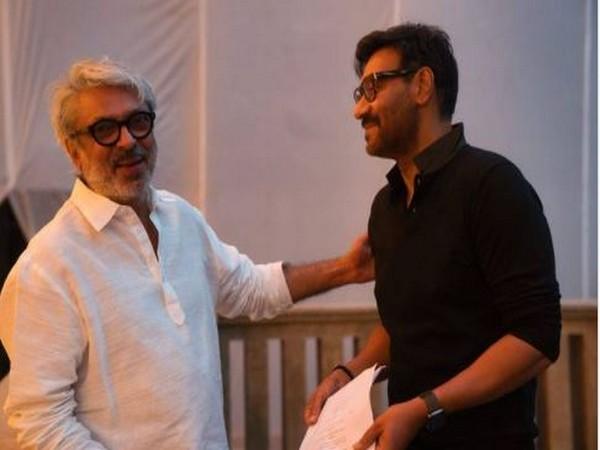 Sanjay Leela Bhansali (l) and Ajay Devgn (Image courtesy: Instagram)