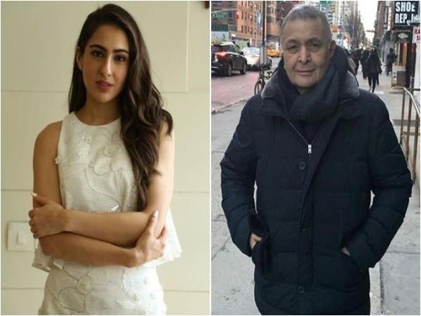 Sara Ali Khan, Rishi Kapoor, Image courtesy: Instagram